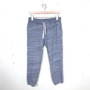 J.crew Fleece Lined Heathered Joggers Ankle XS